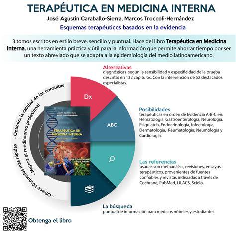 libro medicina interna salud ocupacional libro quot terap 233 utica en medicina interna quot