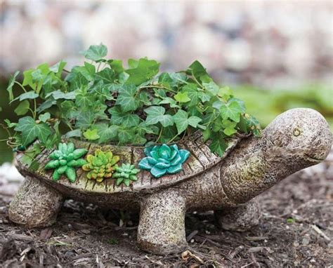 Turtle Garden Decor New Creative Succulent Garden Turtle Planter Fresh Garden Decor