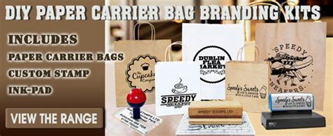 personalised rubber st uk paper bag rubber st kits speedy sts speedy sts