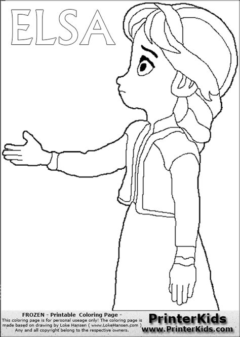 elsa coloring pages pdf frozen coloring pages elsa disney frozen young elsa