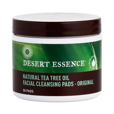 Thiriving Detox For Acne by Tea Tree Cleansing Pads By Desert Essence