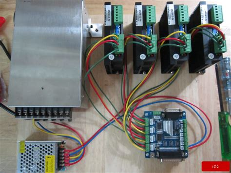 electronic wiring cnc electronics wiring id2cnc