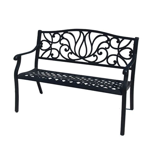 aluminum bench seating best outdoor bench garden furniture for sale bistro
