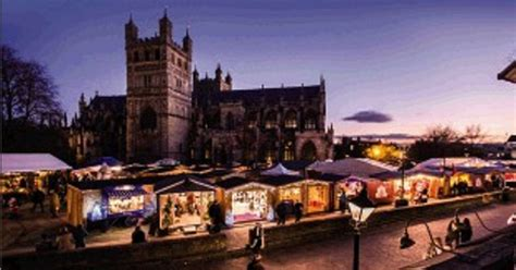 exeter christmas market 2017 when does it open and what