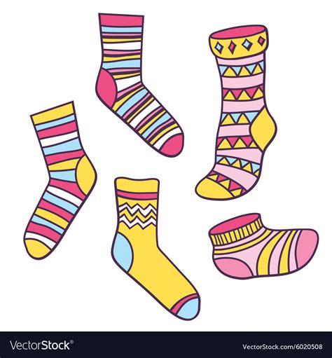 socks vector socks royalty free vector image vectorstock