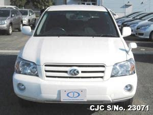 toyota kluger second used japanese toyota kluger 2004 for sale