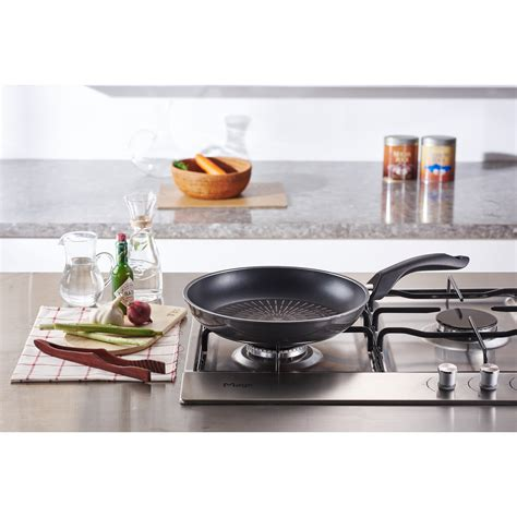table top frying pan happycall induction titanium non stick frying pan