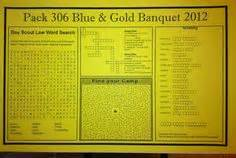 Blue And Gold Banquet Program Template Fleur De Lis Designs February 2011 Thing To Make Blue And Gold Banquet Program Template