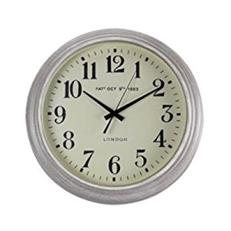 wall clock online amazon wall clock amazon co uk kitchen home