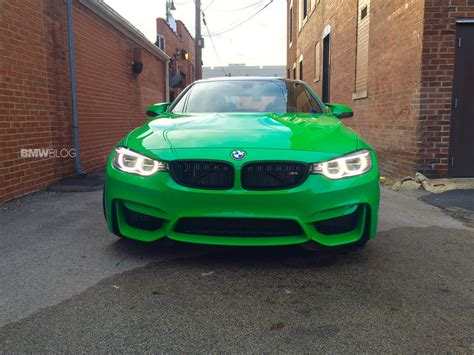 green bmw m4 this 2016 bmw m4 in signal green is a beauty