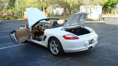 porsche boxster automatic transmission buy used 2007 porsche boxster base convertible 2 door