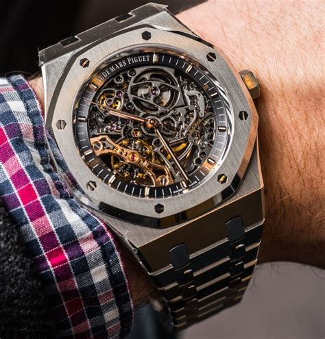 Audemars Piguet audemars piguet royal oak balance wheel openworked