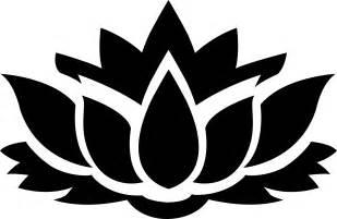 Lotus Flower Silhouette Clipart Lotus Flower Silhouette 8