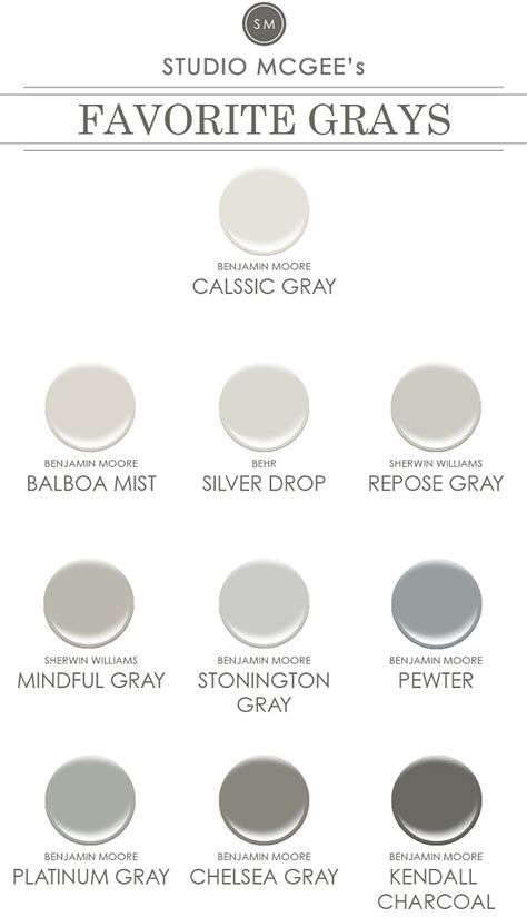 popular gray paint colors interior paint color ideas home bunch interior design ideas