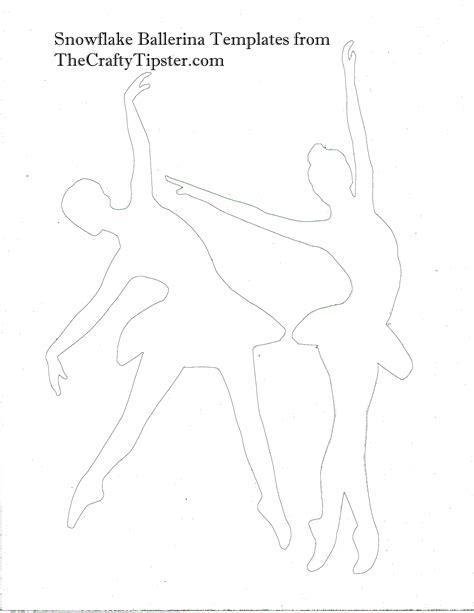 Paper Ballerina Template