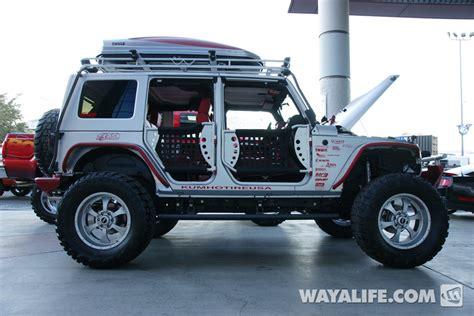 jeep wrangler 4 door silver 2012 sema sprintex supercharged silver 4 door jeep jk wrangler