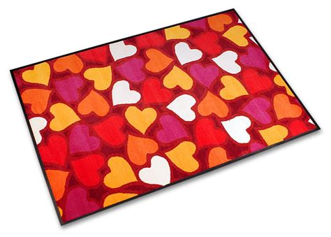 Mat For by Message Mat Hearts