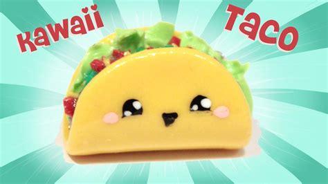 imagenes de tacos kawaii taco kawaii friday 109 tutorial in polymer clay youtube