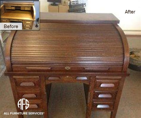 roll top desk repair gallery before after pictures all furniture services