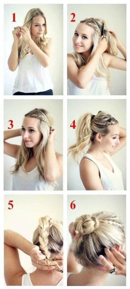 easy hair styles for dances 15 braided bun updos ideas messages braided buns and