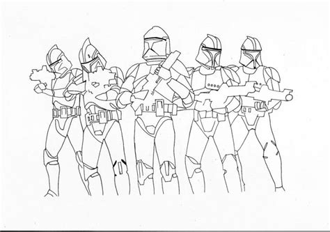 Clone Coloring Pages wars clone trooper coloring pages coloring home