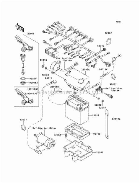 1997 kawasaki 900 zxi jet ski wiring diagram kawasaki 750