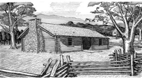 cabin drawings log cabin interiors log cabin pen and ink drawings log