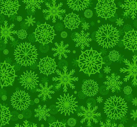 vector pattern background green green snowflake pattern seamless background vector green