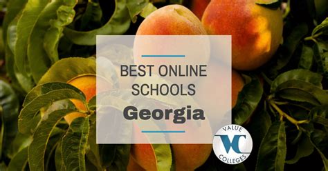 Best School For Mba In Ga by Top 10 Best Colleges In Value Colleges