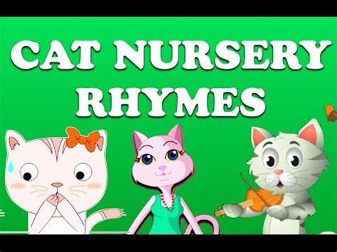 the cat counting book for children a nursery rhyme about addition 5 numbers math book for picture books for children ages 4 6 friendship the cat series volume 1 books cat nursery rhymes collection animation songs for