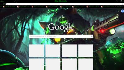 jinx theme for google chrome league of legends chrome themes themebeta