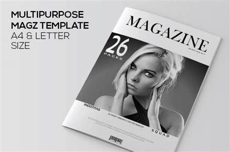 Indesign Magazine Template Magazine Templates On Creative Market Indesign Magazine Template