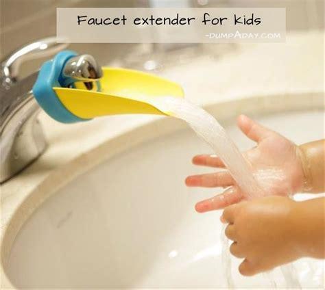 genius ideas faucet extender for kids dump a day
