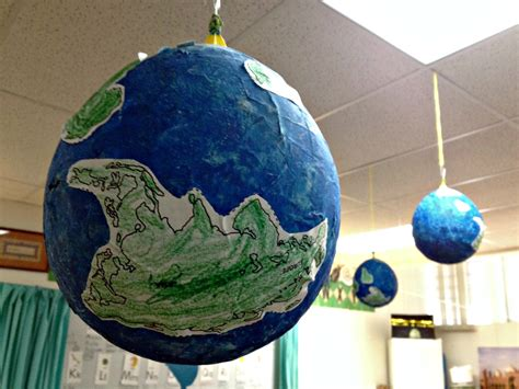 How To Make Paper Earth - paper mache globes littlelifeofmine