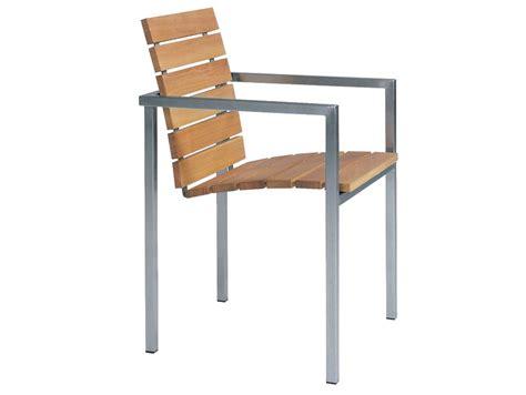 teak gartenmöbel kanada natal alu teak stuhl by trib 217 design wim segers