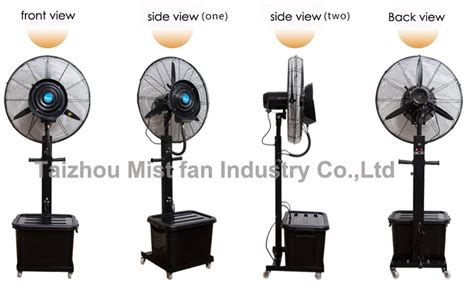 industrial fans with water mist debenz brand water fan industrial fan water air cooling