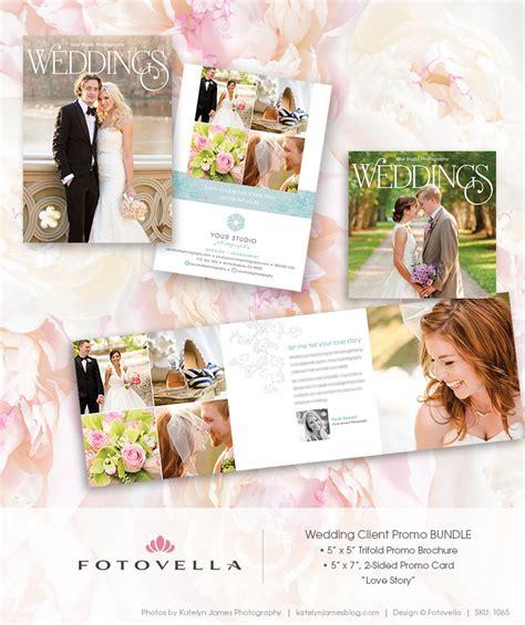 Wedding Marketing Brochure by Wedding Photography Marketing 5x7 Promo Card Plus By Fotovella