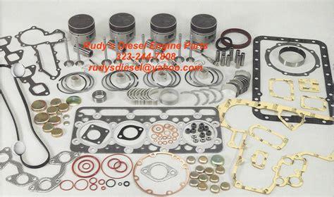 kubota  vt premium rebuild engine kit rudys diesel engine parts