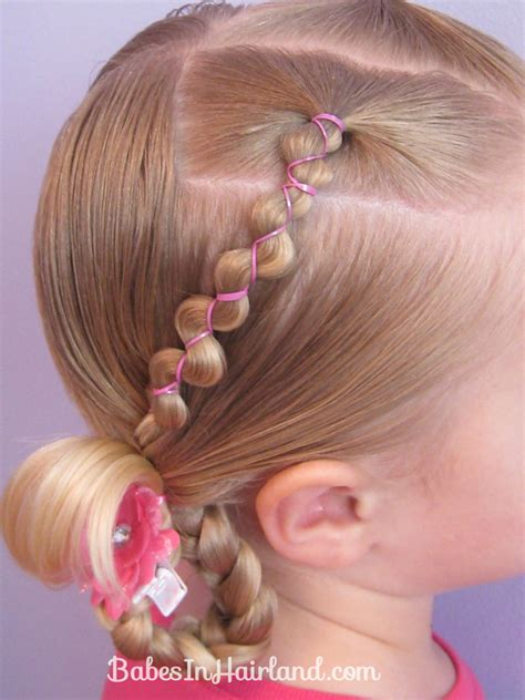 hair styes for girls with loom bands little girl hairstyles with rubber bands