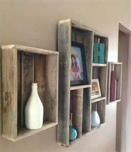 Bookcase Shabby Chic Pallet Wall Shelves Ideas 101 Pallets