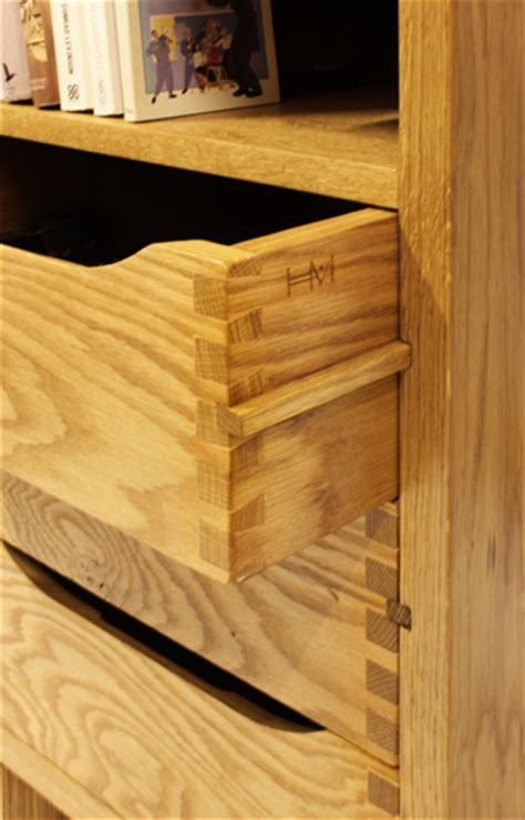 Handmade Furniture Uk - solid oak bureau hugh miller