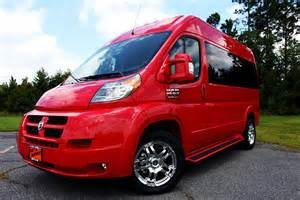 ram promaster the ultimate passenger conversion