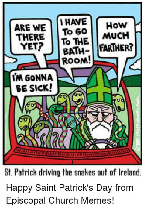 St Patrick S Day Memes - 25 best memes about episcopal church episcopal church memes