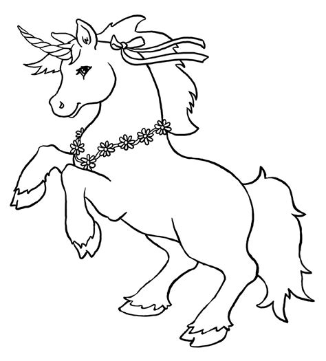 Printable Coloring Pages Of Unicorns | free printable unicorn coloring pages for kids