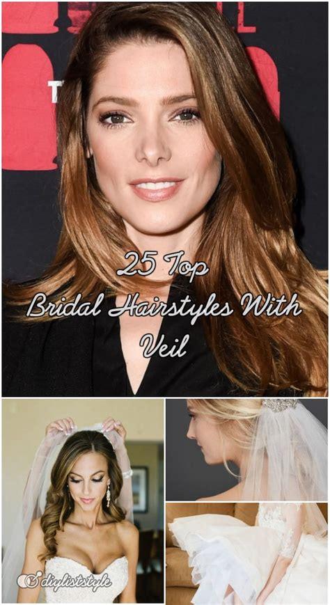 top bridal hairstyles  veil bridal hairstyles