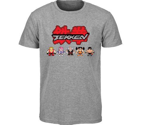 T Shirt Tekken buy tekken retro t shirt medium grey free delivery