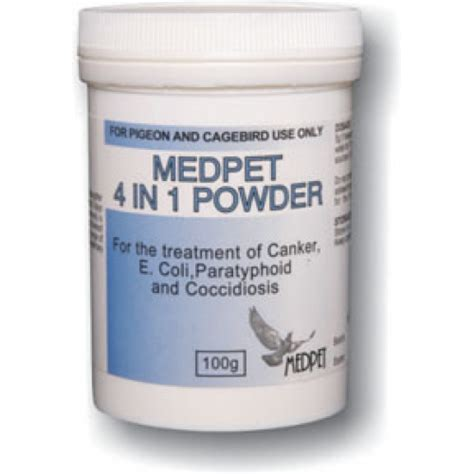 Pigeon Powder pigeon product 4 in 1 powder by medpet