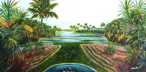 fairchild tropical botanical gardens fairchild tropical botanical garden painting by