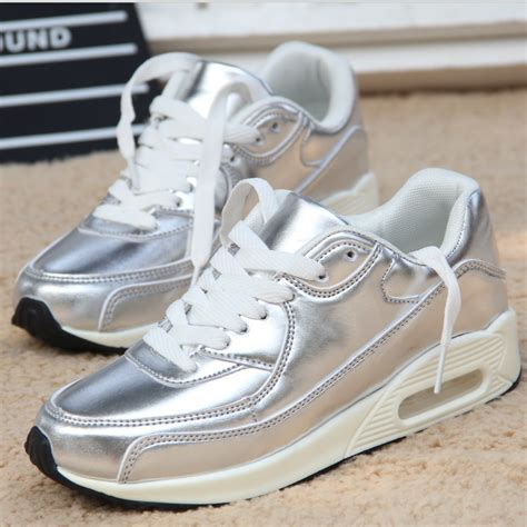 korean shoes 2015 new korean shoes gt fashion sneakers gold silver