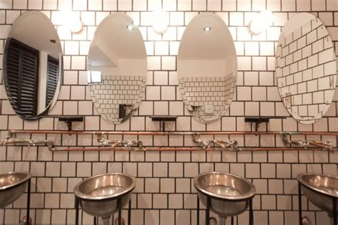 bar bathroom ideas brown steunk bar gives industrial style a